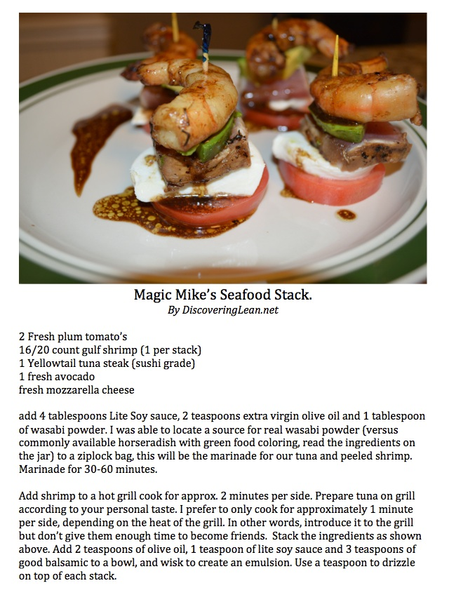 Magic Mike's Seafood stack