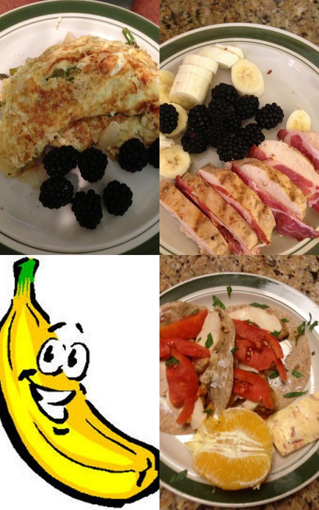 Mondays food log. sept 16th